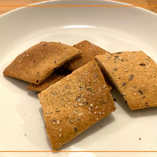 Frischkäse Cracker
